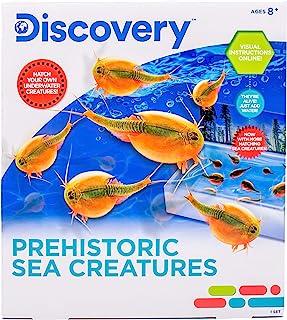 Discovery Prehistoric Sea Creatures By Horizon Group USA, Sea Monkeys Growing Kit, Includes Brine Shrimp Eggs, Sea Creatur...