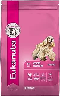 ユーカヌバ ドッグフード 体重管理 成犬用 1歳以上 中型犬用 チキン 6kg