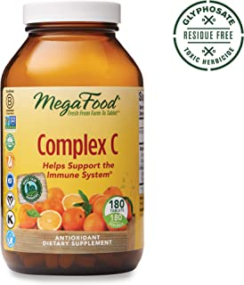 MegaFood, Complex C, Supports a Healthy Immune System, Antioxidant Vitamin C Supplement, Gluten Free, Vegan, 180 Tablets (180 Servings) (FFP)
