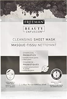 Freeman Beauty Infusion Mask Cleansing Sheet (6 Pieces) Display