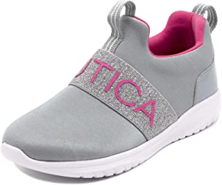 Nautica Kids Youth Athletic Fashion Sneaker Running Shoe -Slip On- |Boy - Girl|Little Kid/Big Kid