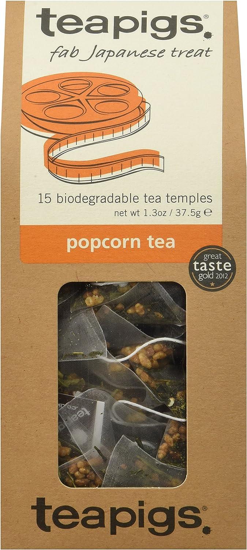 Teapigs Popcorn Tea, 15 Count (Pack of 6)