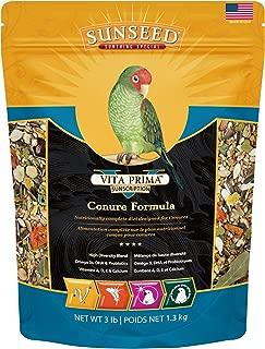Sunseed 49040 Vita Prima Sunscription Conure Food - High-Variety Formula, 3 LBS