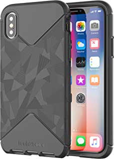 tech21 - Phone Case Compatible with Apple iPhone X - Evo Tactical - Black