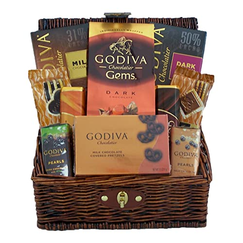 53d12133c78e Godiva Chocolates Lovers Gourmet Holiday Gift Basket