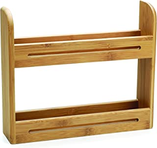 RSVP International BOO-SR Bamboo Spice Rack, One Size, Multi Color
