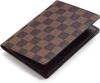 Daisy Rose Luxury Passport Holder Cover Case   PU Vegan Leather RFID Travel Organizer Card Holder