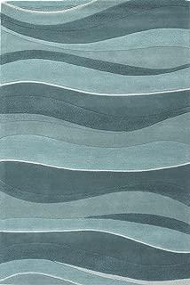 KAS Oriental Rugs Eternity Ocean Landscapes Rug Rug Size: 2'3