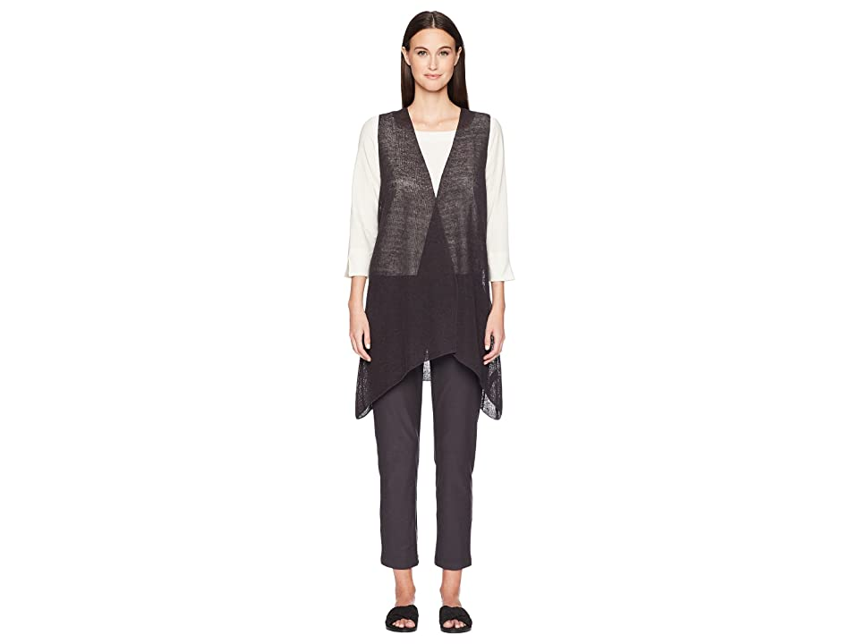Eileen Fisher Vest (Graphite) Women
