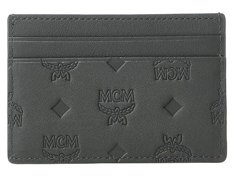 MCM Klara Monogrammed Card Case Mini