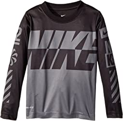 Nike Kids Sublimated Multi Logo Dri-FIT Tee (Toddler)