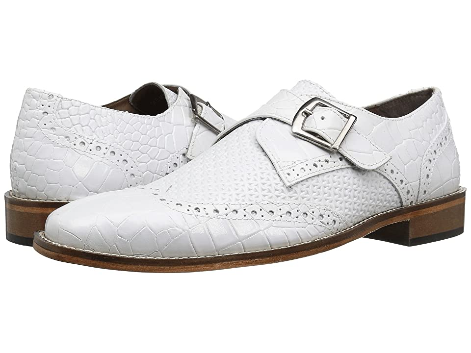 Stacy Adams Giannino (White) Men