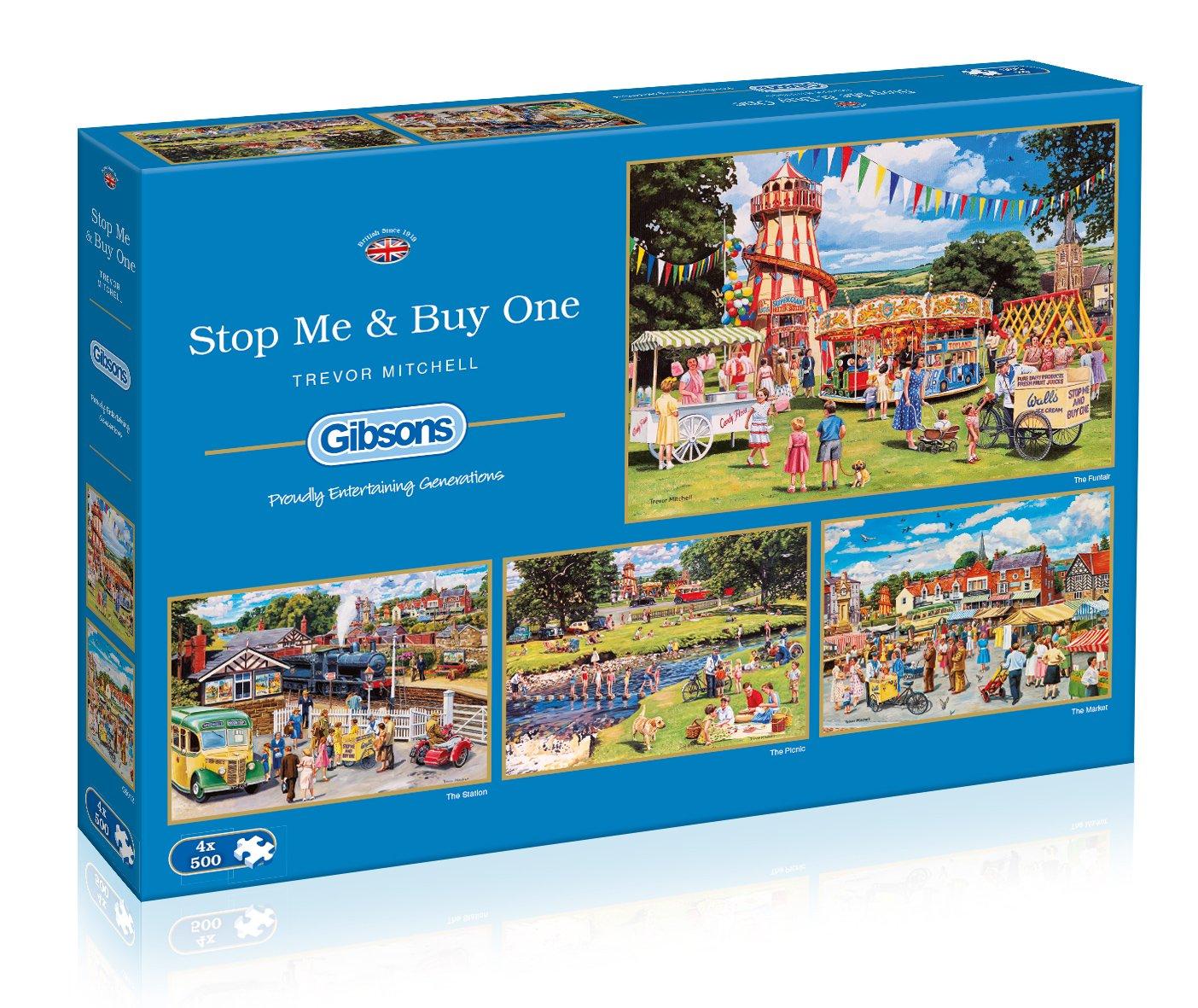 Buy One 4x500 Piece Jigsaw Puzzle