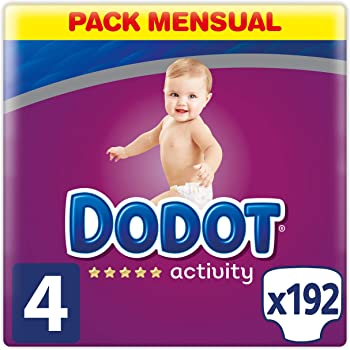 8-14K 62 unidades Pa/ñales Dodot Activity T4