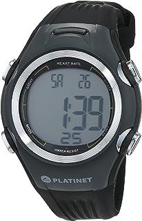 PlatinetPHR117G - Reloj pulsómetro, color negro, talla M