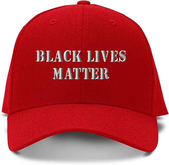 Yhsuk Black Lives Matter Unisex Fashion Cool Adjustable Snapback Baseball Cap Hat One Size Black