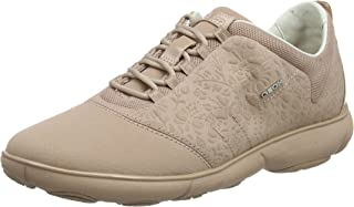 GEOX Womens Nebula Trainers Sneakers in Antique Rose.
