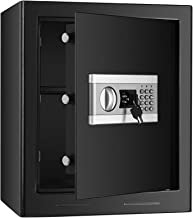 (US STOCK)1.53cub Fireproof and Waterproof Safe Security Box, Electronic Digital Safe Box with Keypad, Combination Lock Sa...