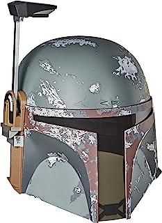 STAR WARS E7543 The Black Series Boba Fett Premium Electronic Helmet, The Empire Strikes Back 40TH Anniversary Roleplay Co...
