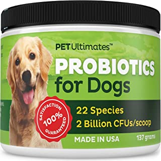 Pet Ultimates Probiotics for Dogs, 137 grams