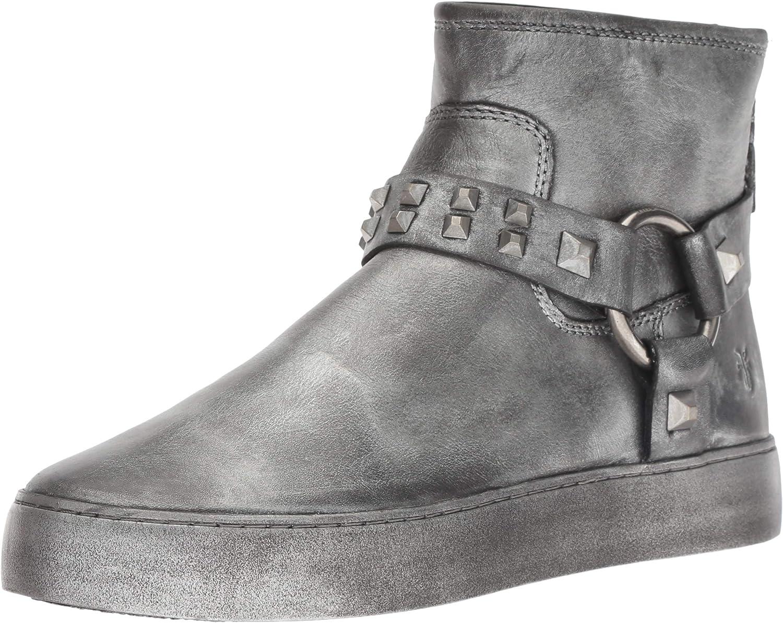 Frye Womens Lena Harness Deco Bootie Sneaker
