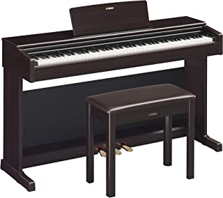Yamaha YDP144R Arius Series Digital Console Piano with Bench, Rosewood
