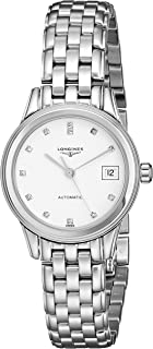 Longines Women's LNG42744276 Flagship White Dial Watch