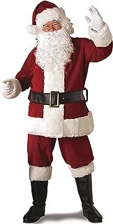 Rubie's Regal Crimson Santa Suit With Gloves