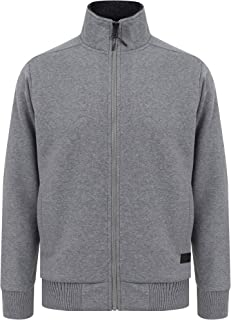 Dissident Men's Percy Zip Through Fleece Lined Jacket Top