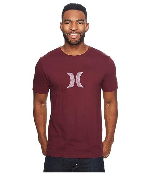 a Icon través de Hurley Maroon Night la camiseta Empuje UTxqn6