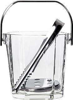 アデリア アイスペール ガラス クリア 900ml シュマール 氷入れ 業務用 日本製 M6803