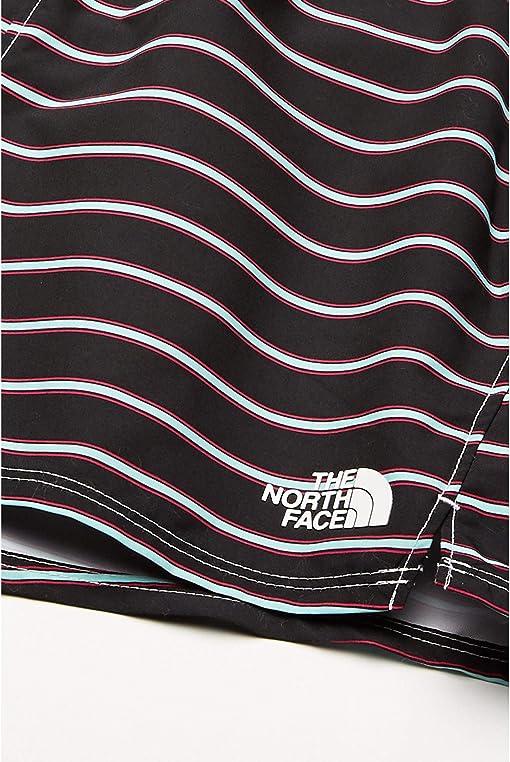 TNF Black Stripe Print