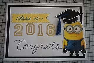 Minion Graduation Card