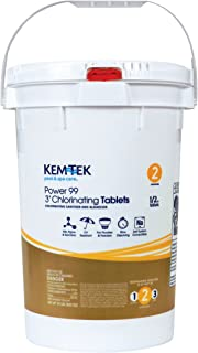 kem tek 3 inch chlorinating chlorine tablets