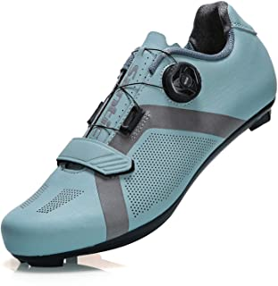 Santic Unisex Cycling Shoes Bike Shoes Indoor Cycling Shoe Suitable for Look Delta & Peleton