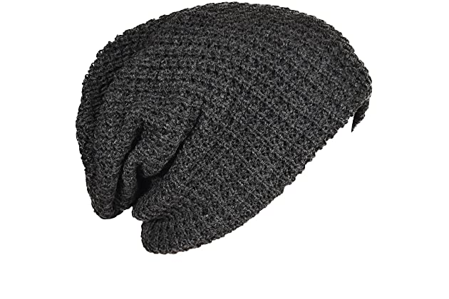 FORBUSITE Mens Slouchy Long Oversized Beanie Knit Cap for Summer Winter B08 f16a0baed90