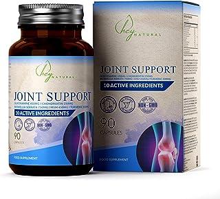 HN Suplemento para Articulaciones   10 Ingredientes que Incluyen Glucosamina y Condroitina, MSM, Boswellia, Zinc, Acido Hialuronico y Curmuma en Capsulas   Alta Resistencia, Sin Rellenos, 90 Capsulas