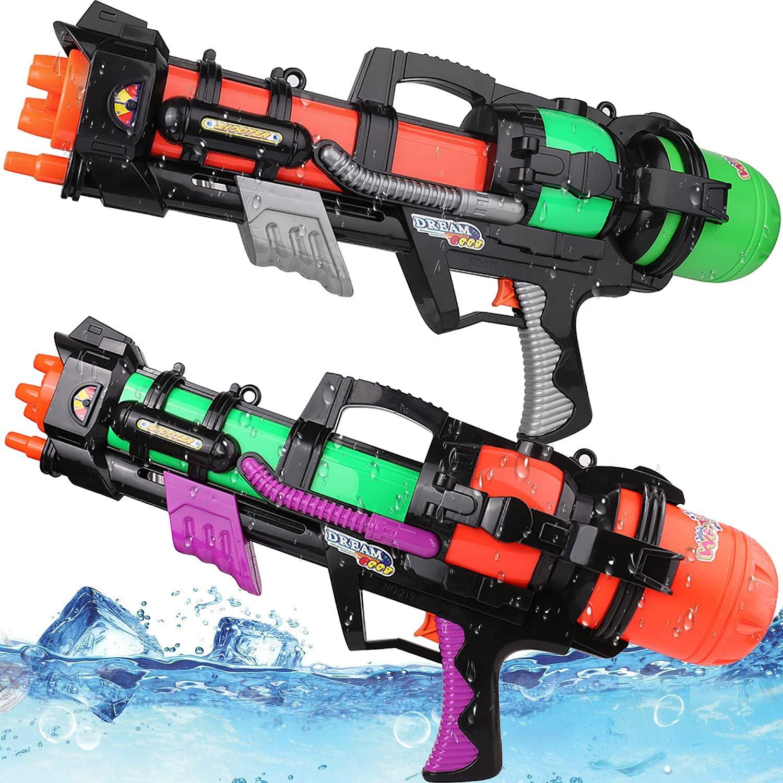 Large Water Guns for Boys Girls Super Soak 2 Blaster Max 84% OFF Popular standard Pack