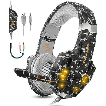 Casque Gamer pour PC, Laptop Sades SA 901 USB Gaming Headset
