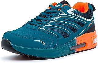 LEKANN 333 - Zapatillas deportivas para hombre (con amortiguación, talla 41-46)