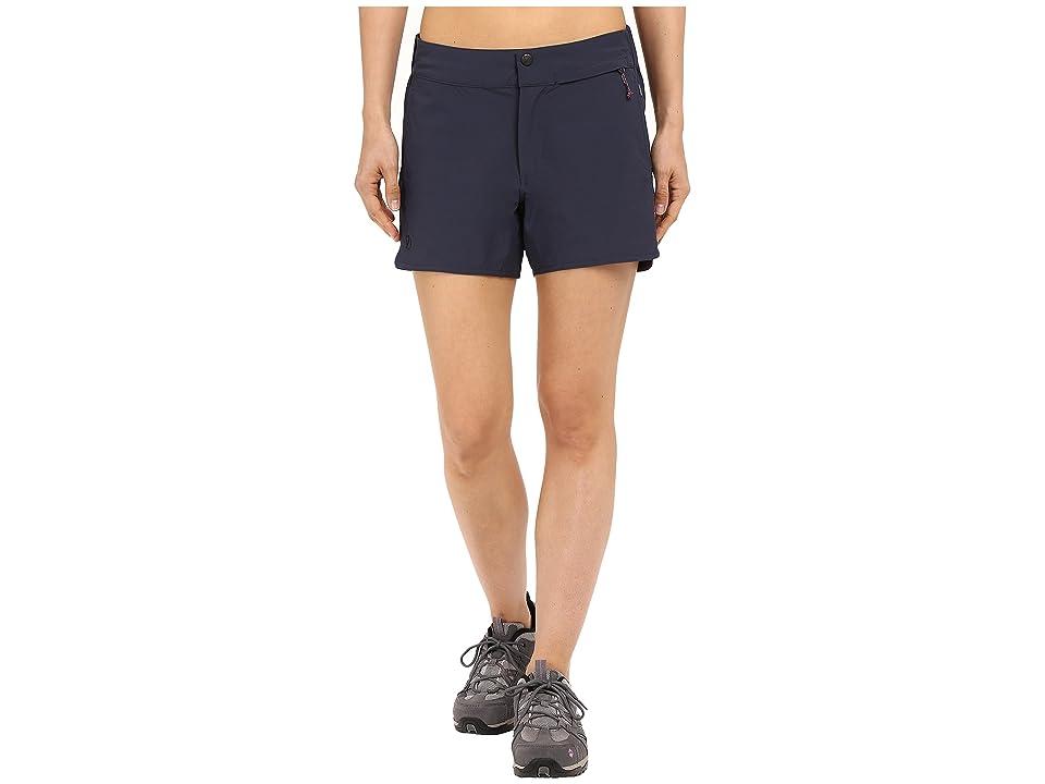 Fjallraven High Coast Trail Shorts (Navy) Women