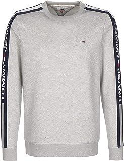 Tommy Jeans mens TJM Branded Tape Crew Sweatshirt