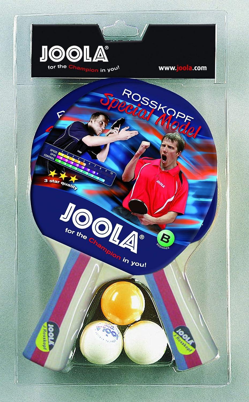 JOOLA 54805 Pala de Tenis de Mesa, Unisex Adulto, Multicolor, Talla Única