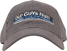 OLD GUYS RULE Men's Rear View Cap Aged to Perfection