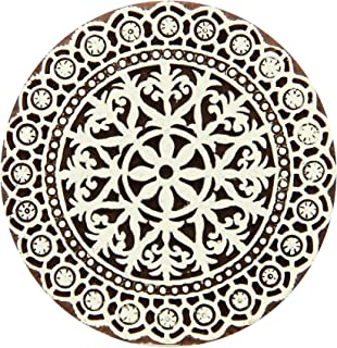 Fabric Creations Block Printing Stamps, 27203 Medium Lace Doily
