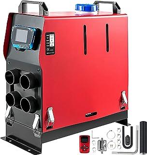 Bisujerro Calentador de Aire Diesel 12V 3KW Calentador de Combustible Calefacción Estacionaria Diesel Calentador Coche Diesel Aire Calentador de Estacionamiento Control Remoto con Interruptor LCD