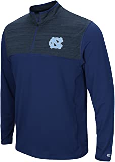 Colosseum Men's NCAA-Big and Tall Sizes-1/4 Zip Pullover Windshirt