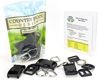 Country Brook Design - 1 Inch Deluxe Dog Collar Kit