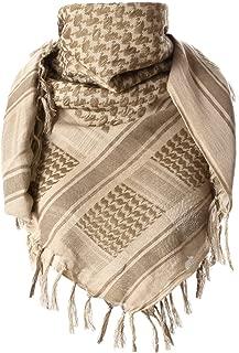 100% Cotton Keffiyeh Tactical Desert Scarf Military Arab Scarf Wrap Shemagh
