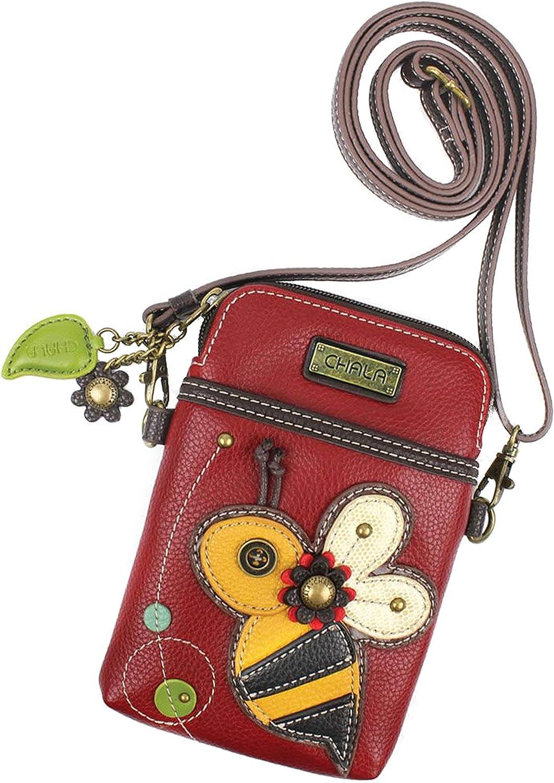 Chala Honey Bee Cellphone Crossbody Handbag  Congreenable Strap Bee Accessories